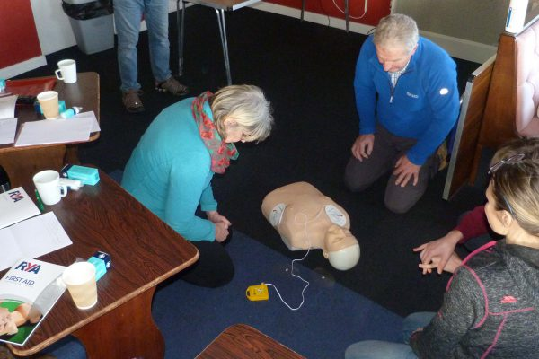 AED usage